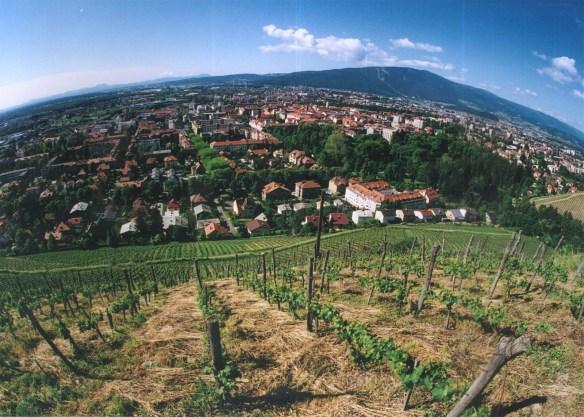 Mount Pohorje in Maribor, Slovenia, site of BattleMesh v8!